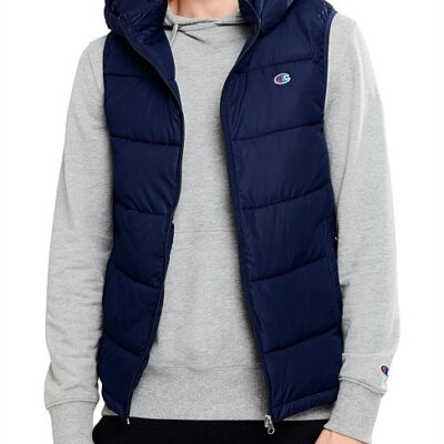 LBACHA1_CHAMPION_Men's_Mens_Puffer_Vest_Navy_Front