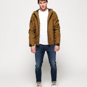 LBASUP12_SUPERDRY_Men's_Technical_Elite_Windcheater_Yellow_Main