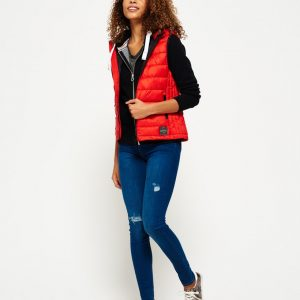 LBASUP24_SUPERDRY_Women's_Core_Luxe_Gilet_Red_Main