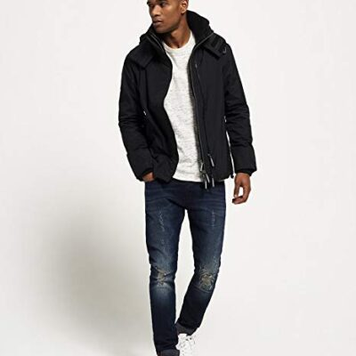 LBASUP32_SUPERDRY_Men's_SD_Windercheater_Black_Main